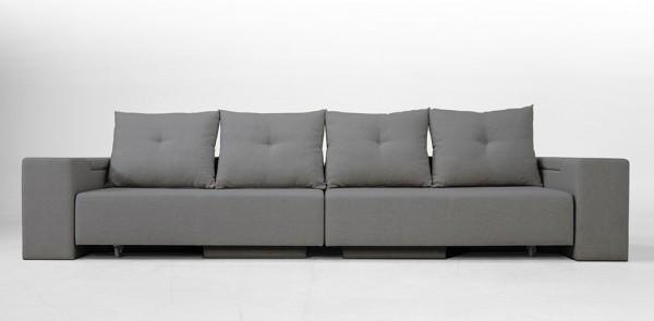 FEYDOM диван BonBon L - Светло сив